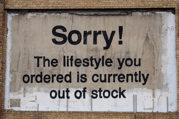 Sorry! The lifestyle you ordered is currently out of stock, 2011